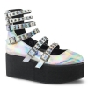 GRIP - 31 Silver Holographic Vegan Leather